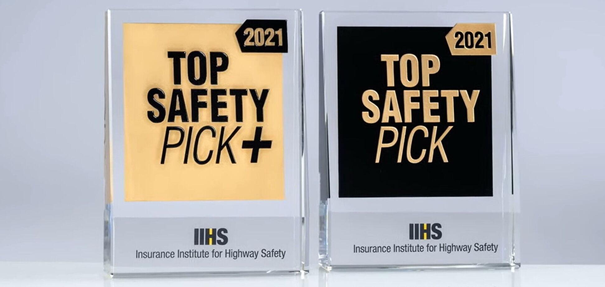 У США нагородили найбезпечніші автомобілі
