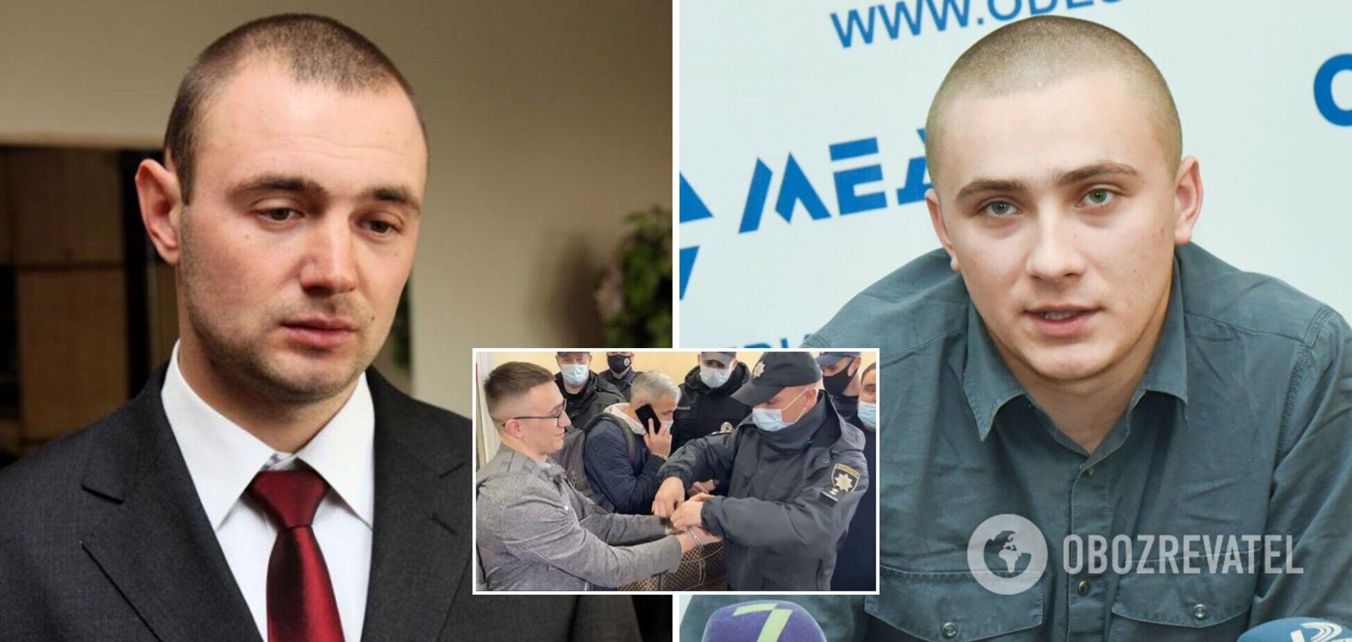 Сергій Щербич – справа Стерненка