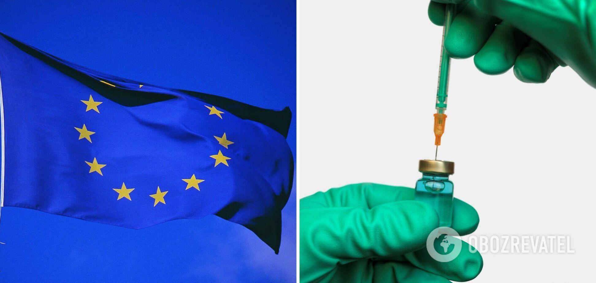 В ЕС предупредили, что в течение 3 месяцев введут 'паспорта' вакцинации