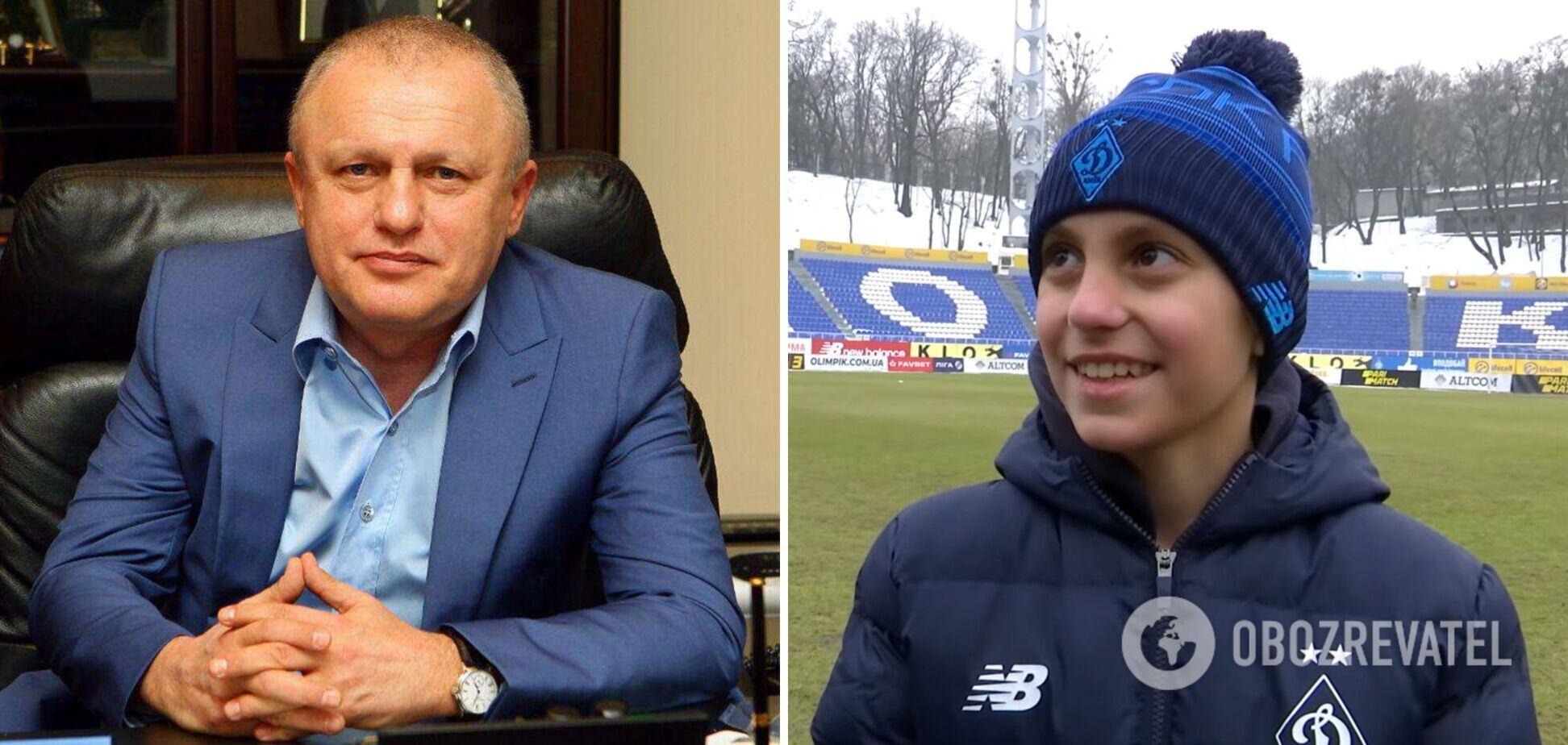 Игорь Суркис и Максим Капустяник