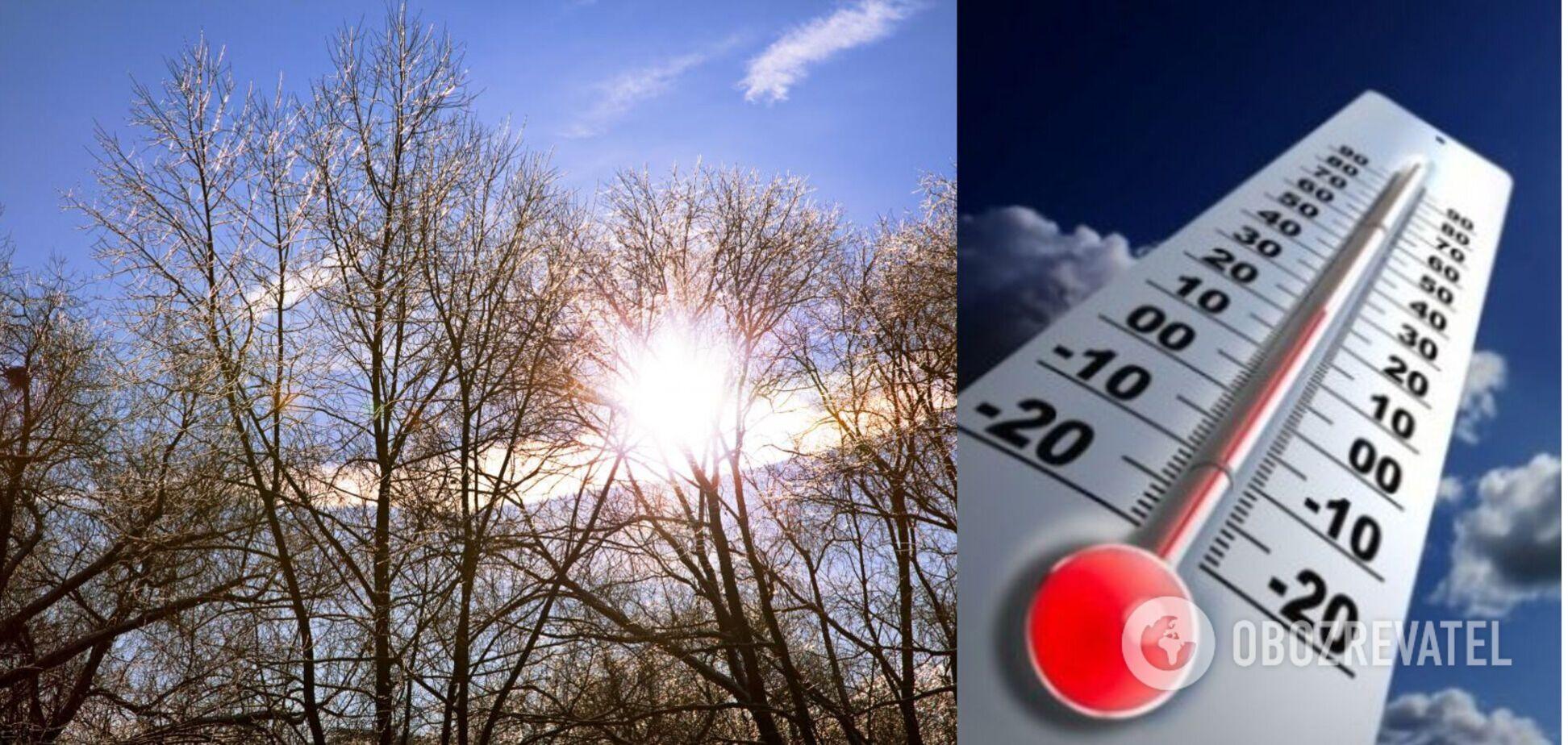 Весняне тепло охопить майже всю Україну: прогноз погоди на п'ятницю
