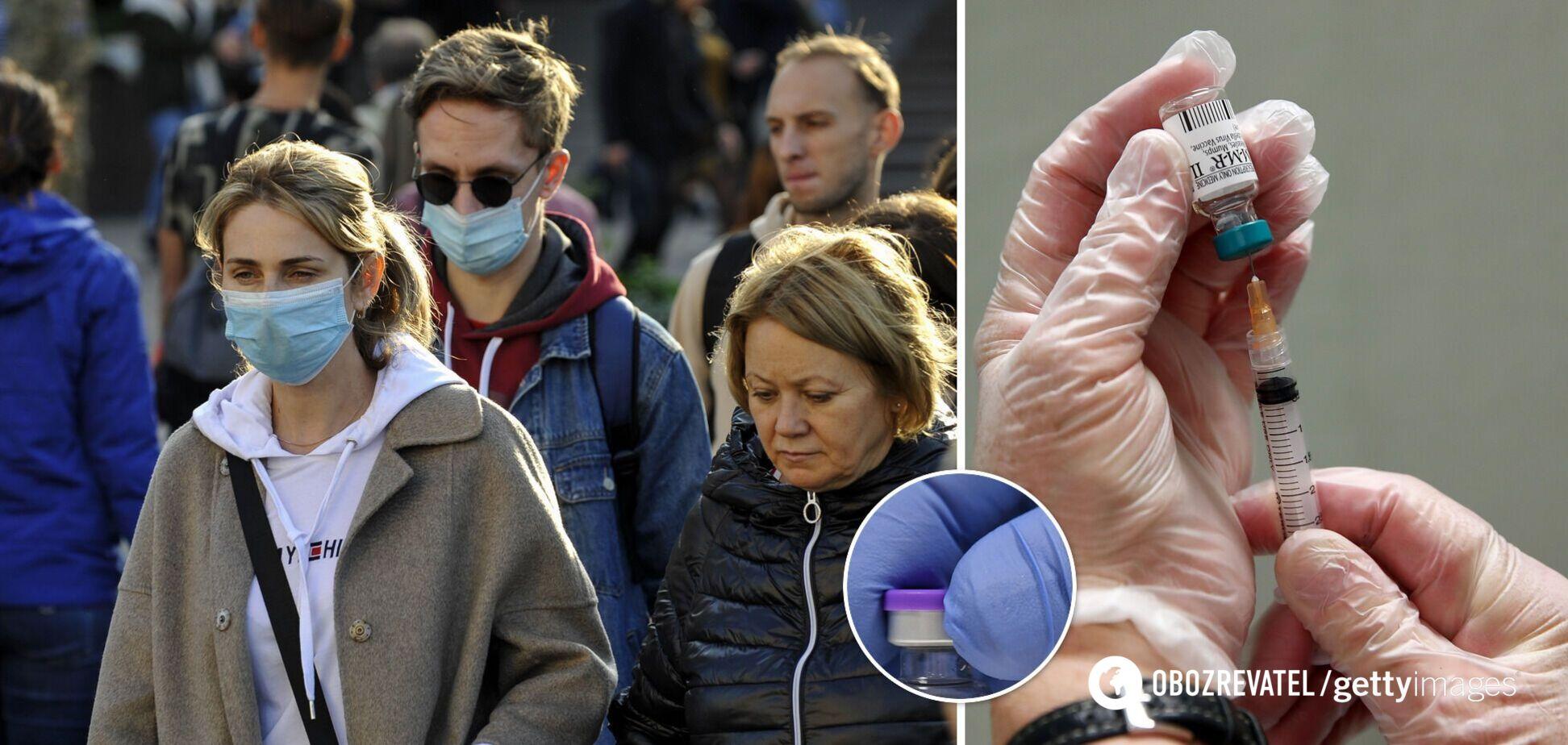 В Україні коронавірусом перехворіло 1,3 млн осіб