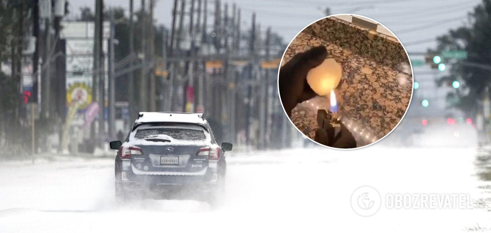 У США почали поширювати теорію про 'фейковий' сніг та змову влади. Відео