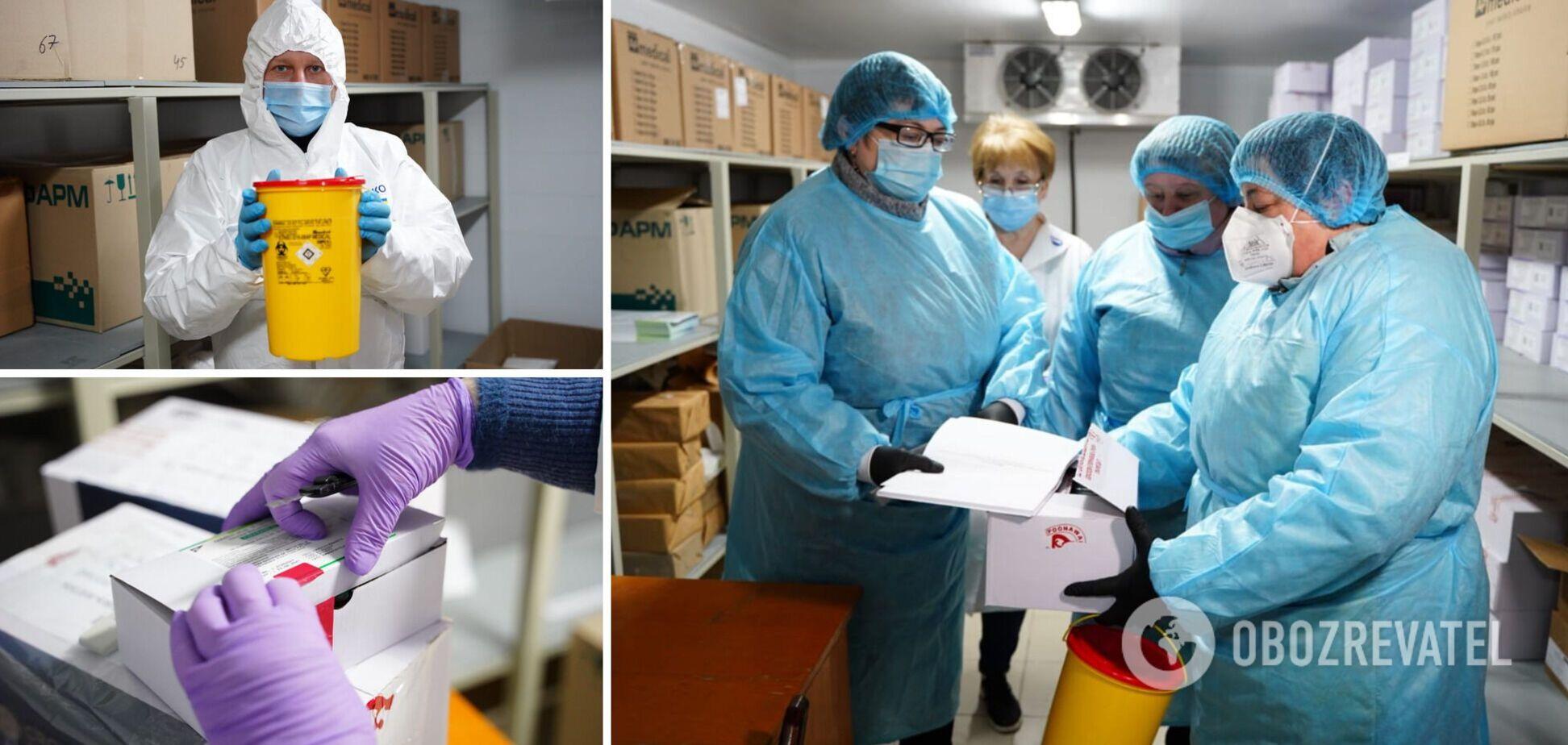 В Украине стартовал второй день вакцинации: какие регионы 'в деле'. Все детали