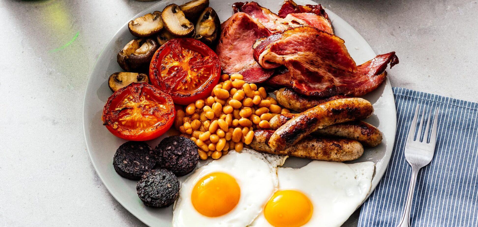 англійський сніданок