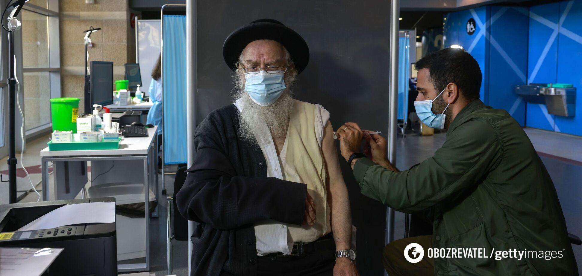 Щеплені від COVID-19 в Ізраїлі не вмирають: озвучено результати вакцинації