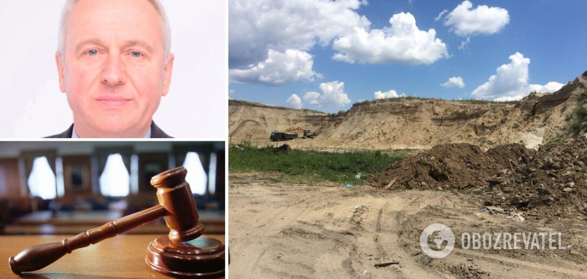 """АО """"Гидромеханизация"""" обвиняется в незаконной добыче песка в Бортничах"""