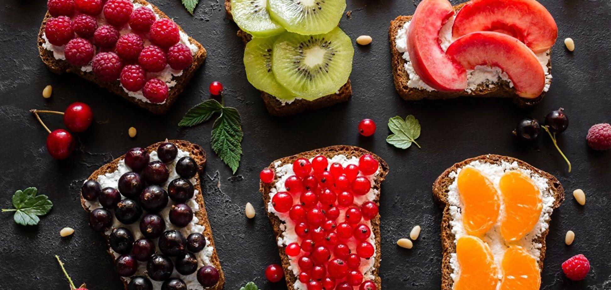 Полезные бутерброды: перечень правильных ингредиентов