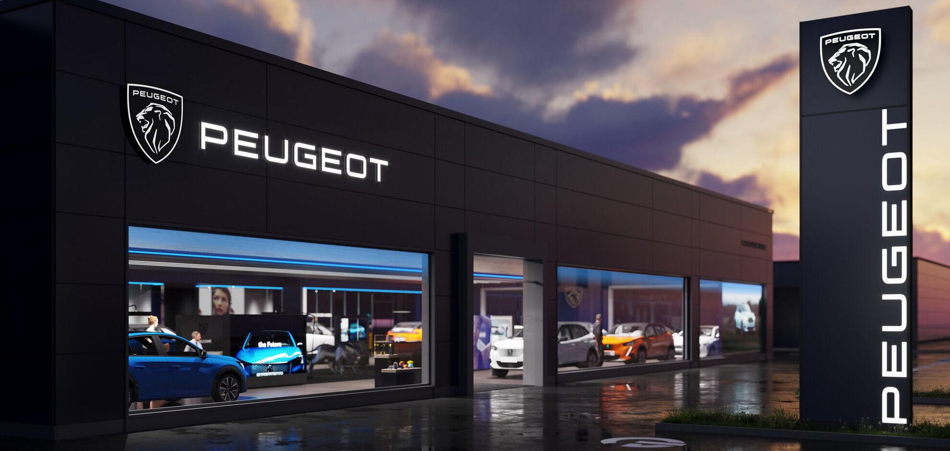 Peugeot провела ребрендинг и изменила эмблему