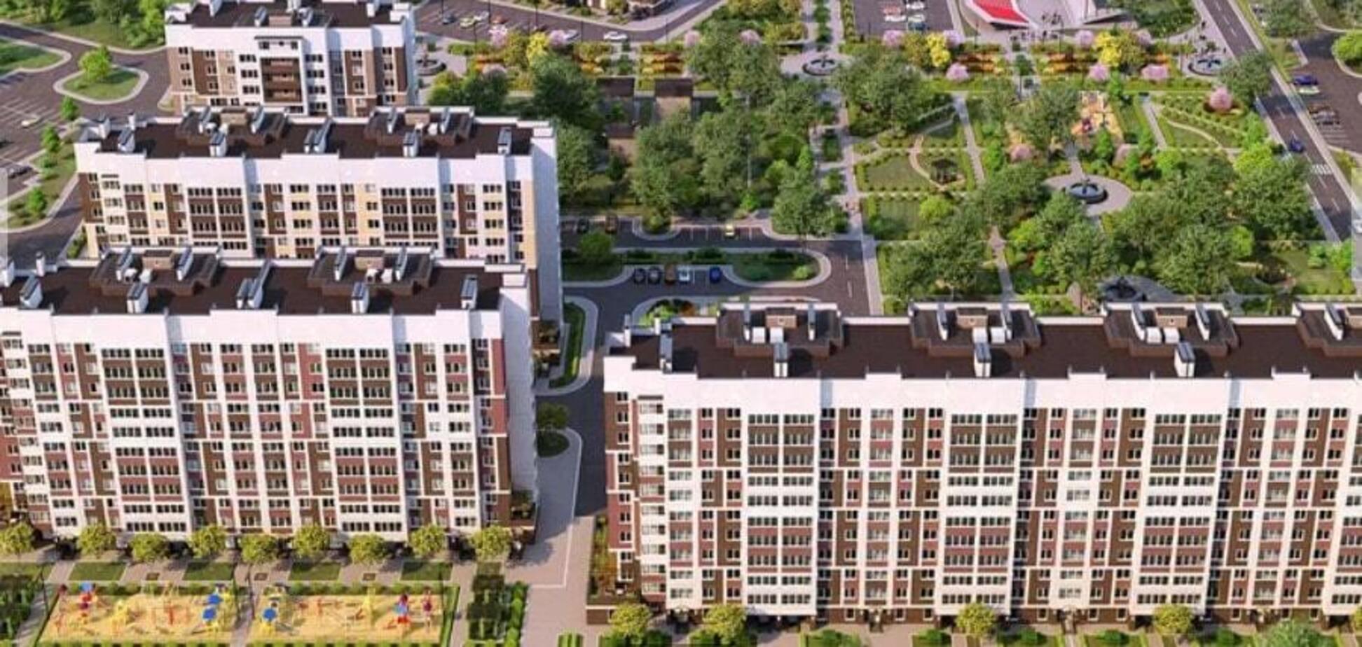 ЖК Сади Вишневі: комплекс под Киевом с развитой инфраструктурой и своим парком