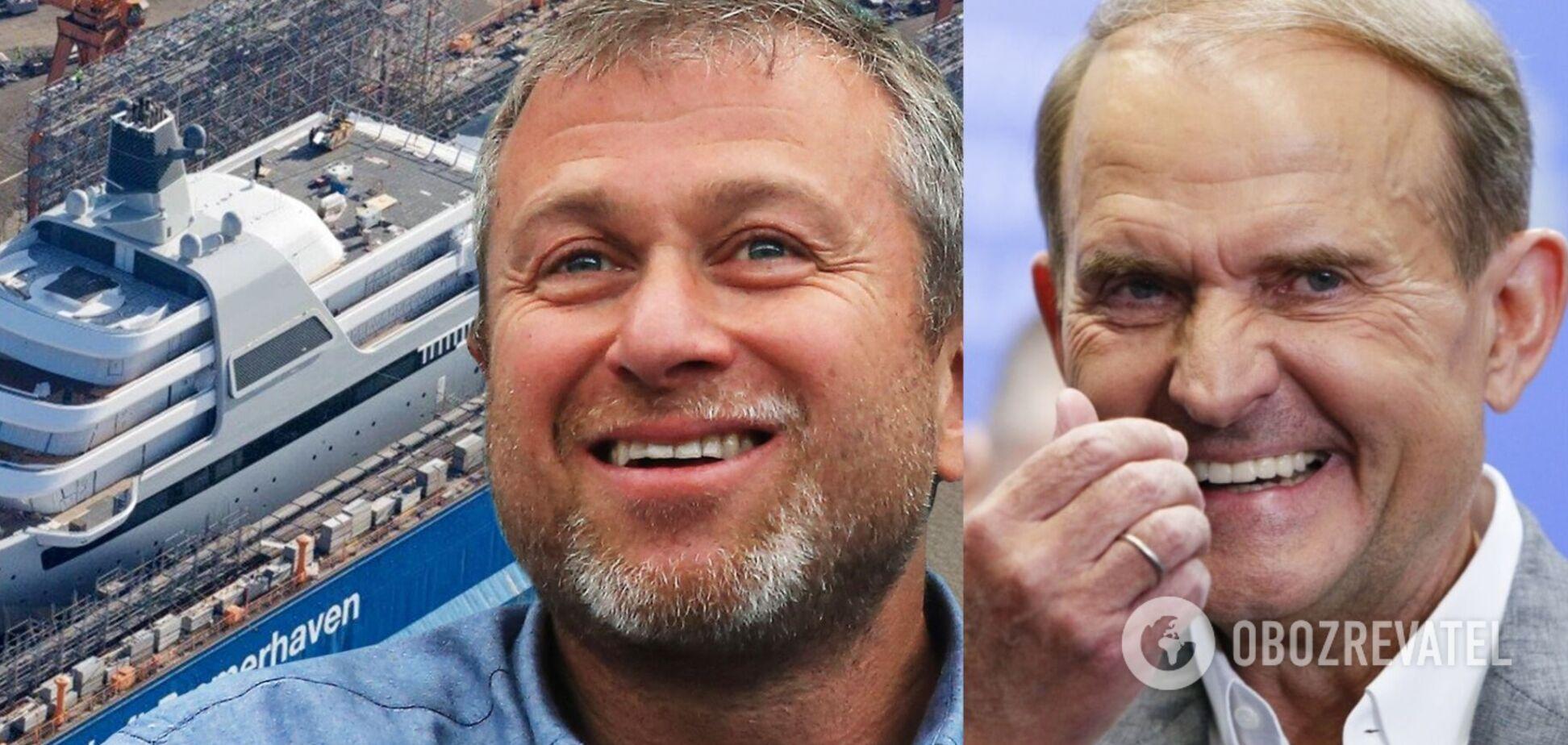 Роскошные яхты Медведчука, Абрамовича и других: как выглядят самые дорогие судна в мире