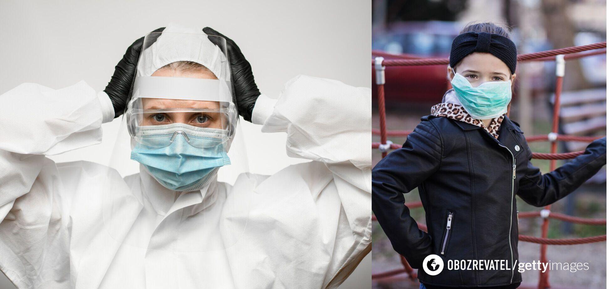 В Украине COVID-19 подхватили еще сотни детей и медиков