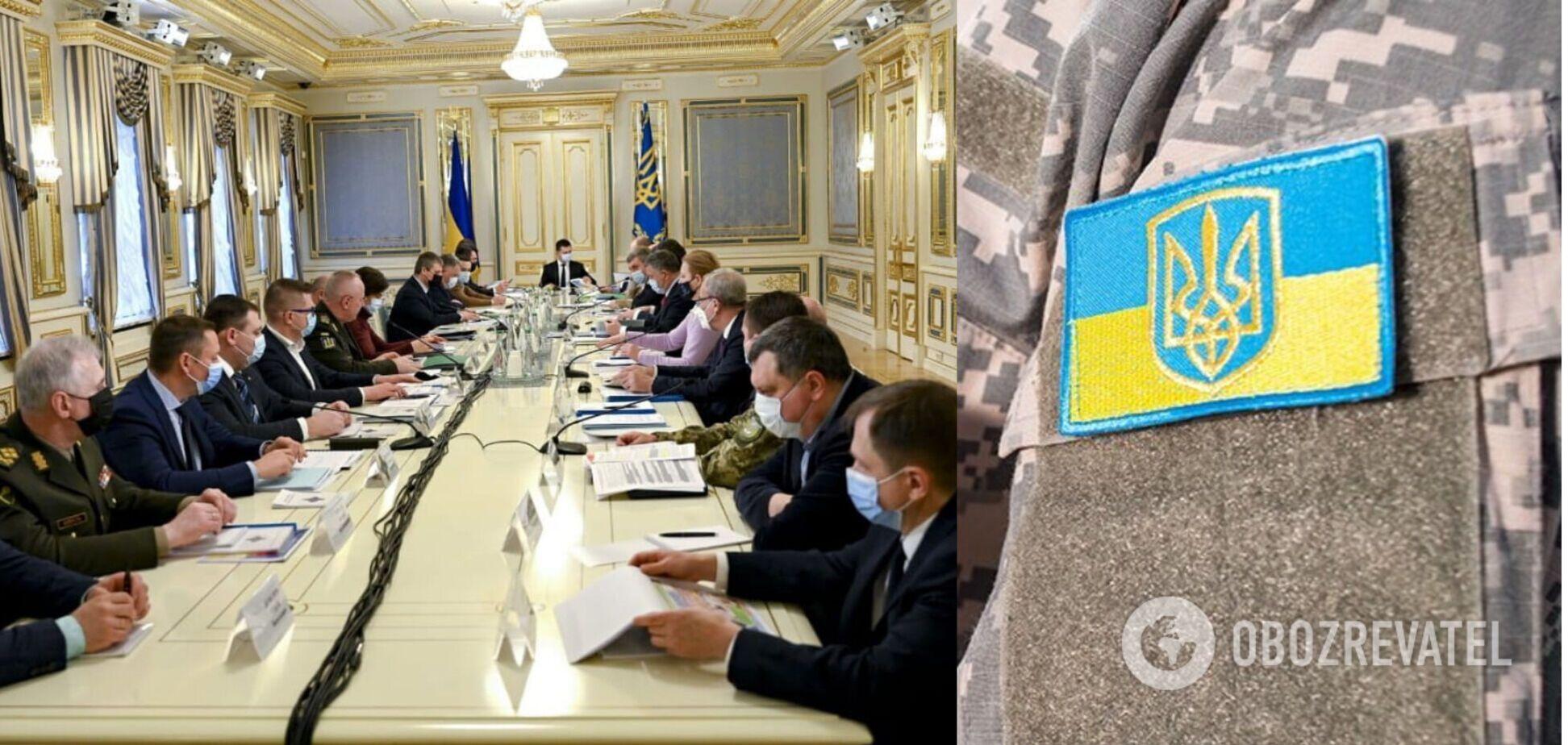 Оприлюднено порядок денний термінового засідання РНБО