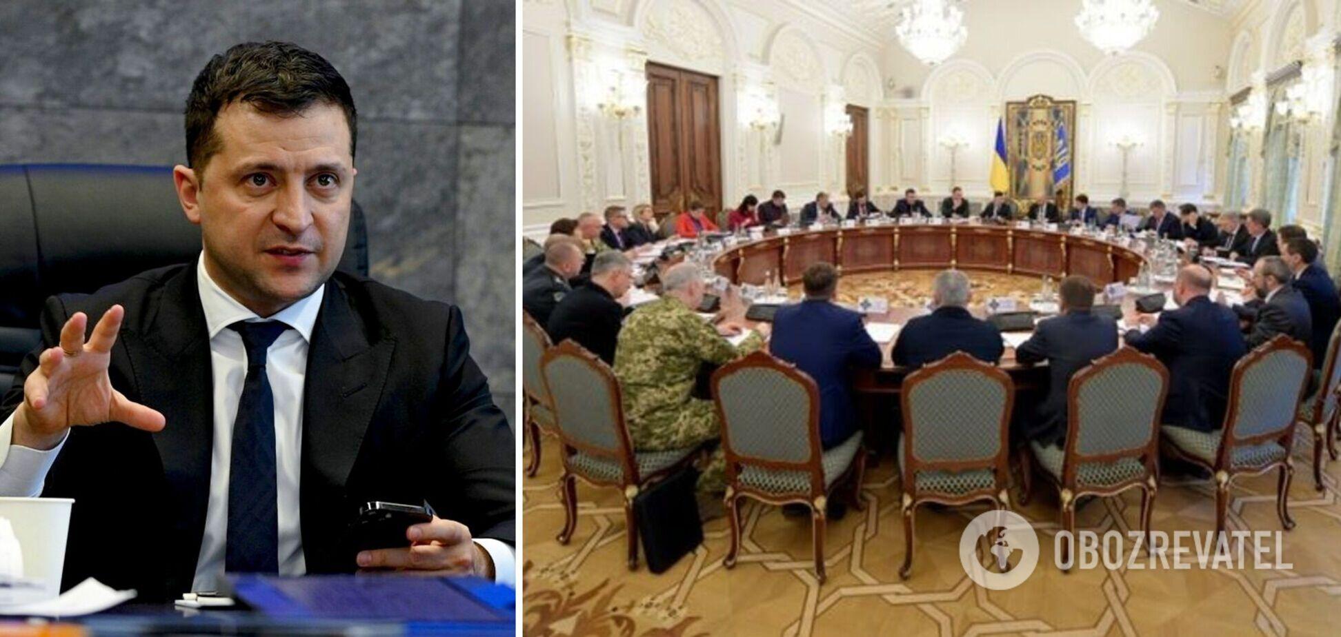 Зеленський скликав термінове засідання РНБО: всі подробиці онлайн