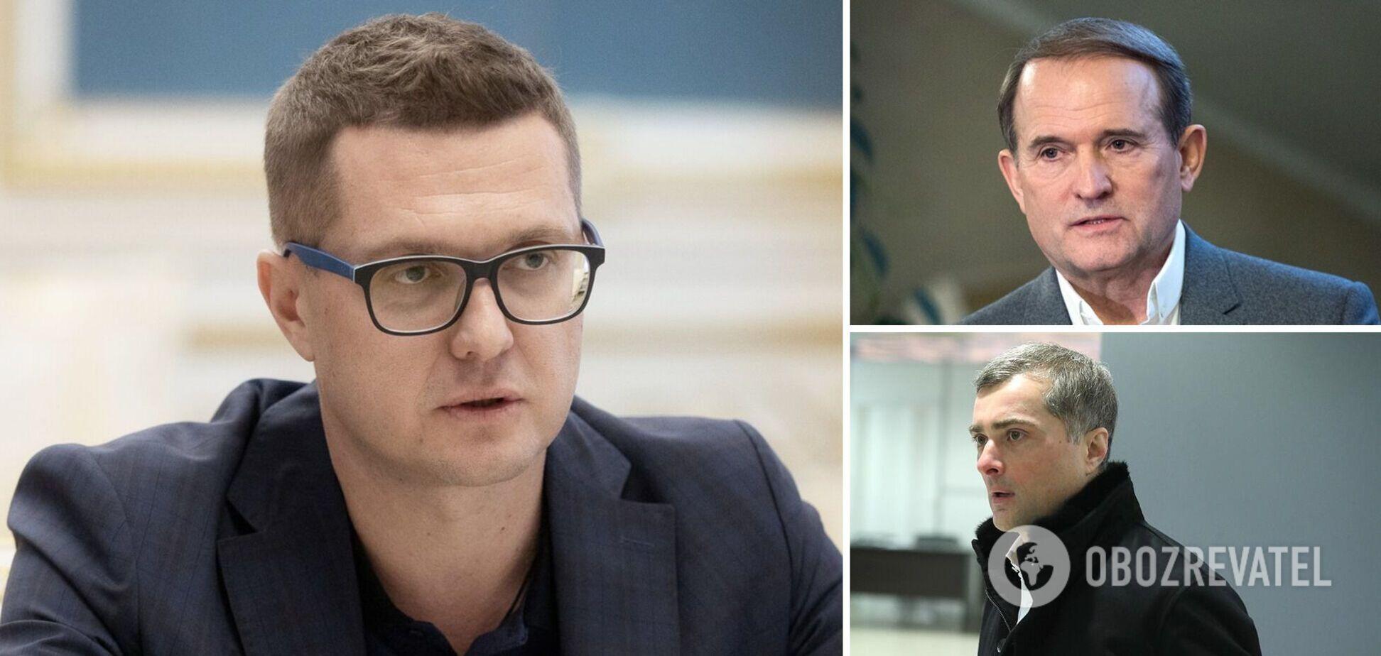 Глава СБУ відреагував на 'плівки Медведчука-Суркова'