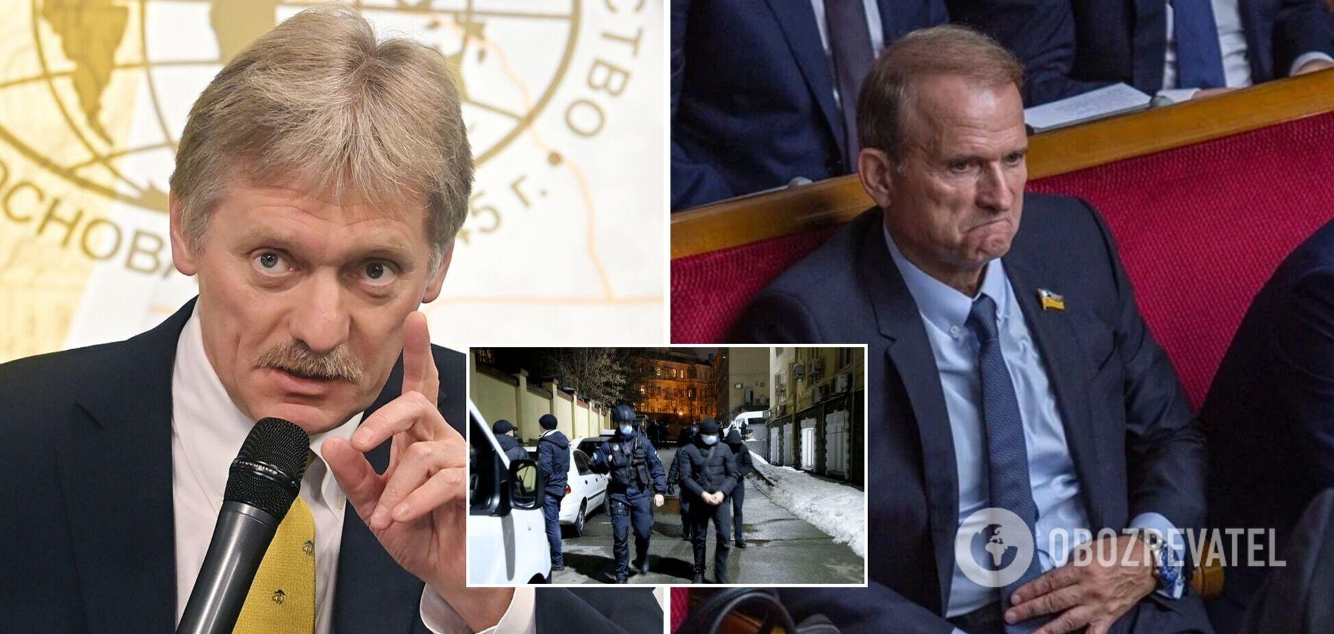 У Путина испугались 'репрессий' в Украине после обысков у офиса ОПЗЖ