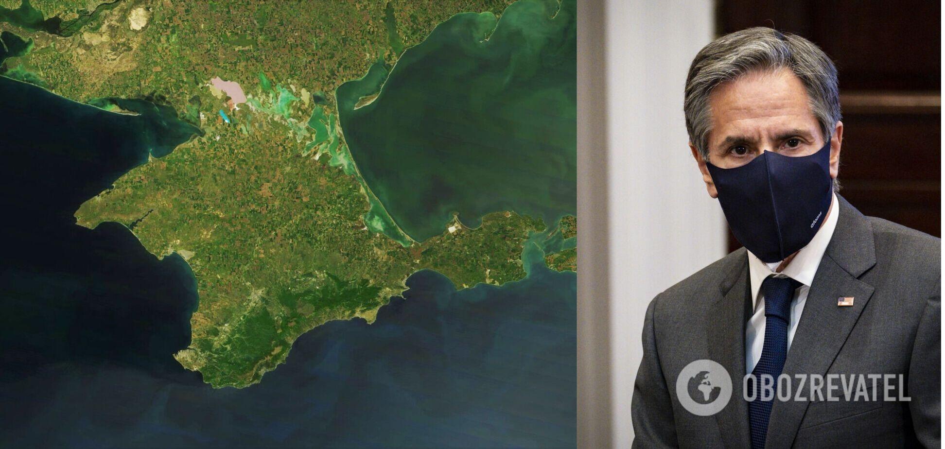 Блінкен назвав захоплення Криму 'нахабною образою сучасного міжнародного порядку'