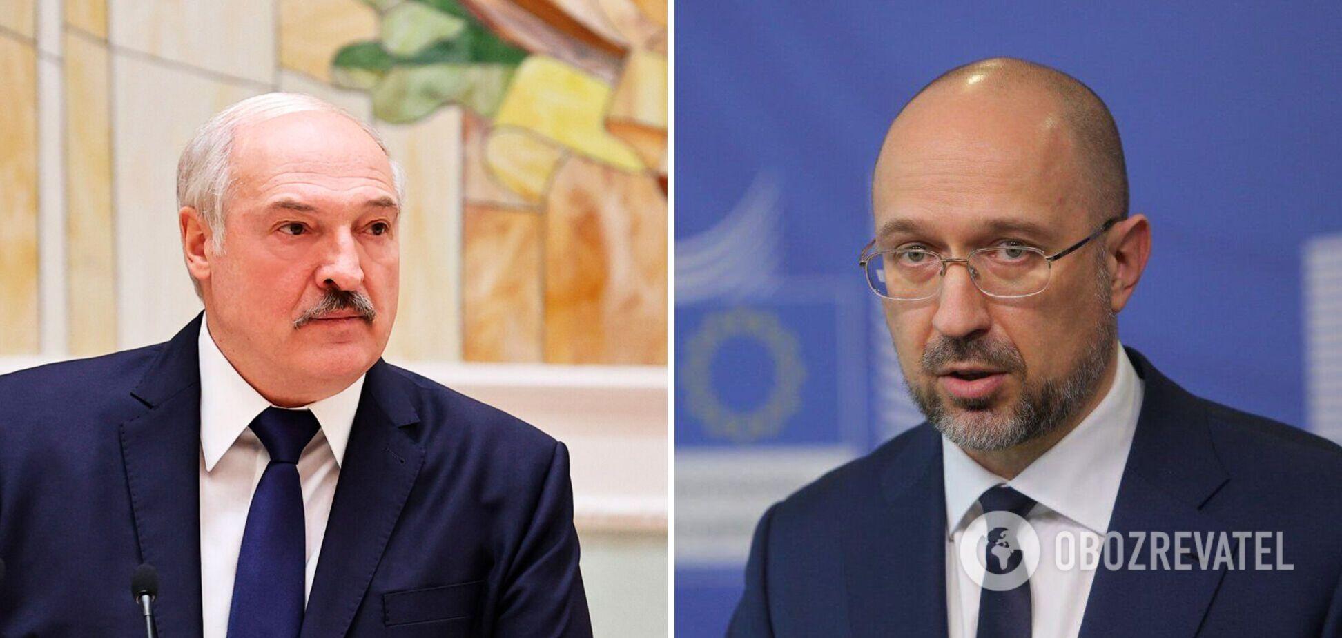 Шмыгаль поручил министерствам рассмотреть санкции против Лукашенко