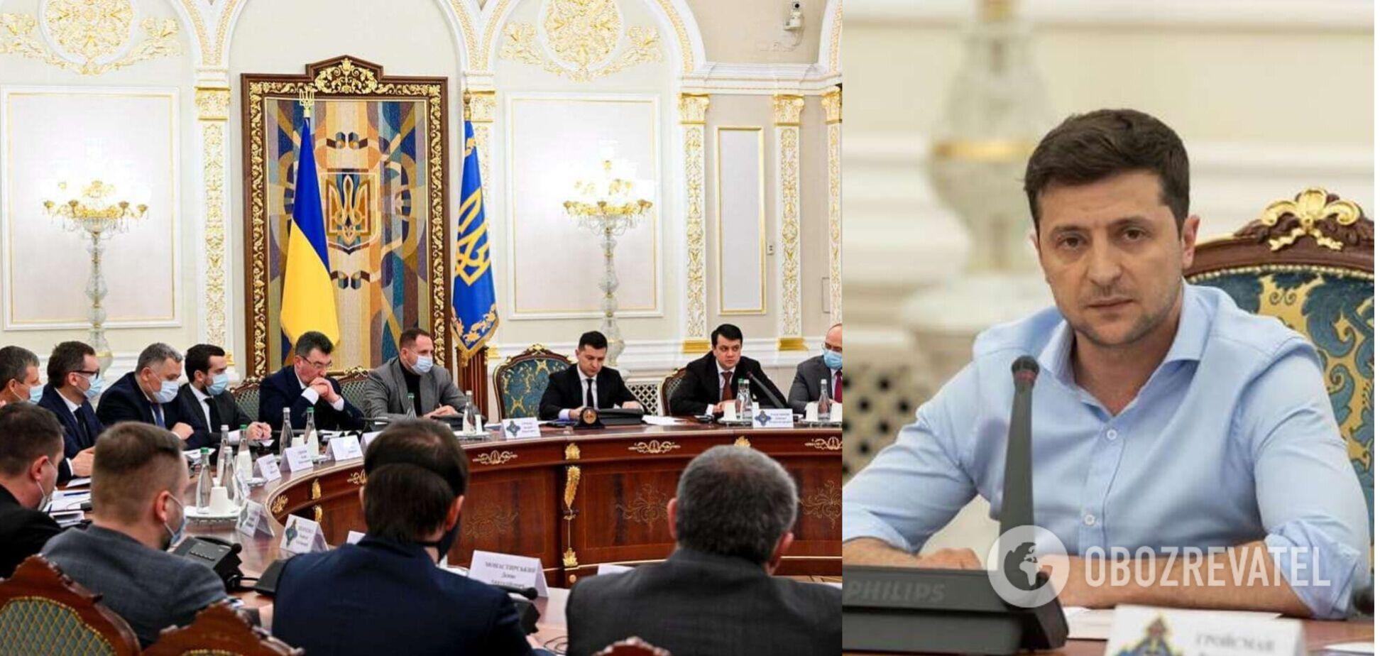 Зеленский расширил штаб СНБО перед срочным заседанием