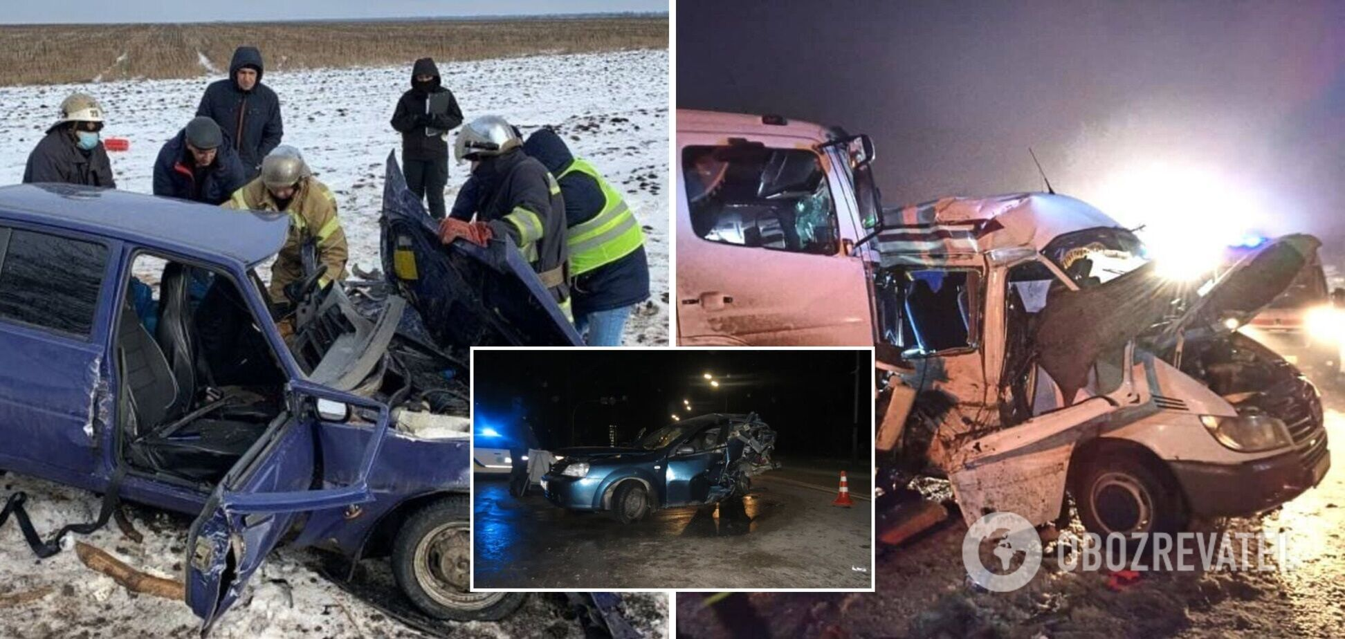 Украинцы продолжают гибнуть на дорогах