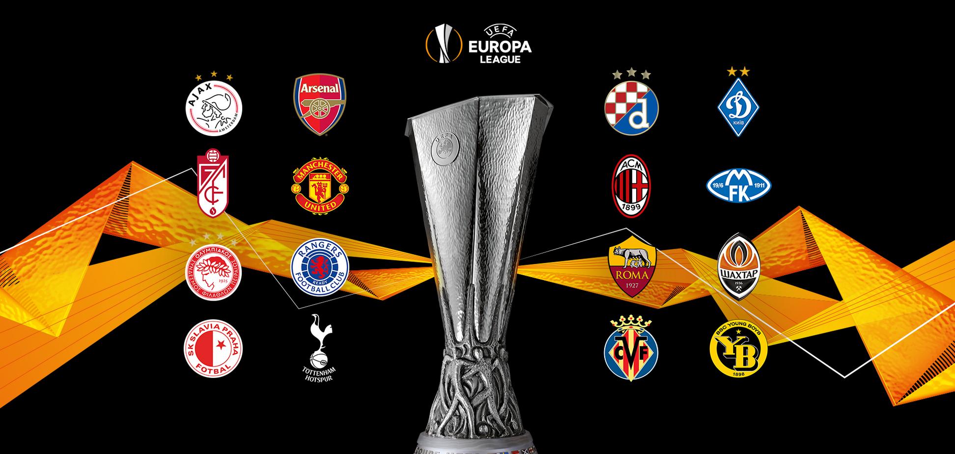 Жеребкування 1/8 фіналу Ліги Європи