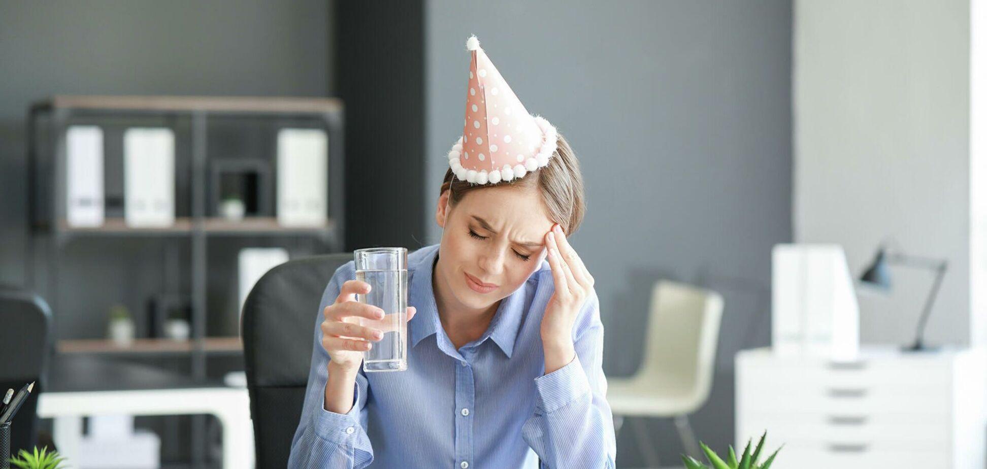 Як позбутися від слідів похмілля: 5 ефективних способів