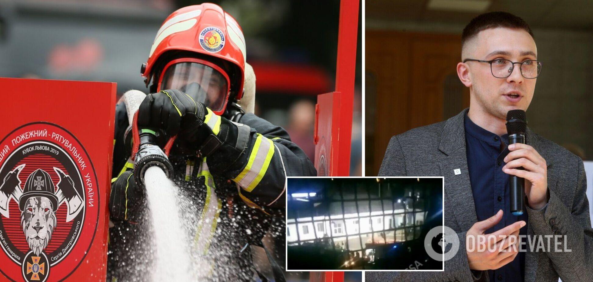 У СІЗО, де сидить Стерненко, сталася пожежа – ЗМІ