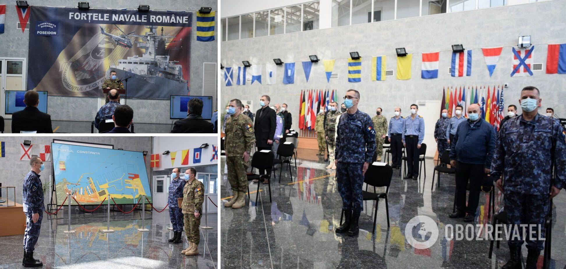 У Чорному морі розпочалися міжнародні навчання НАТО: залучили понад 700 військових. Фото