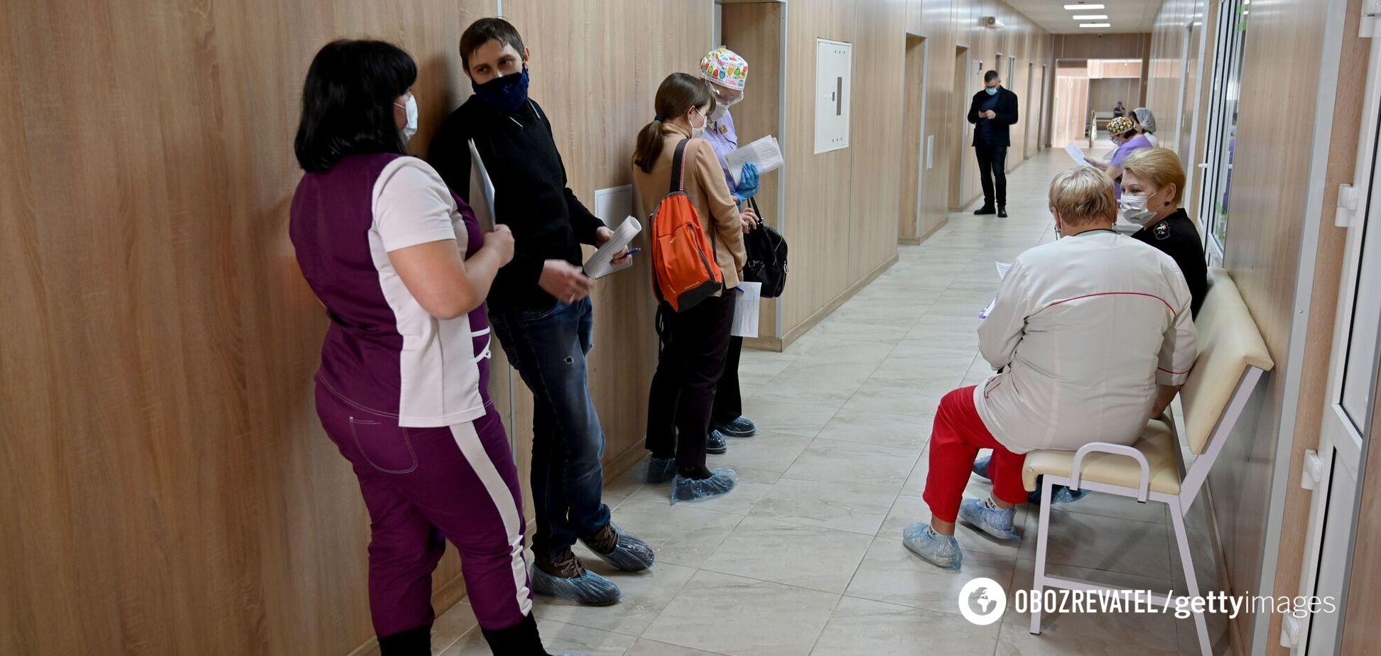 В Украине за сутки COVID-19 заболели более 500 детей
