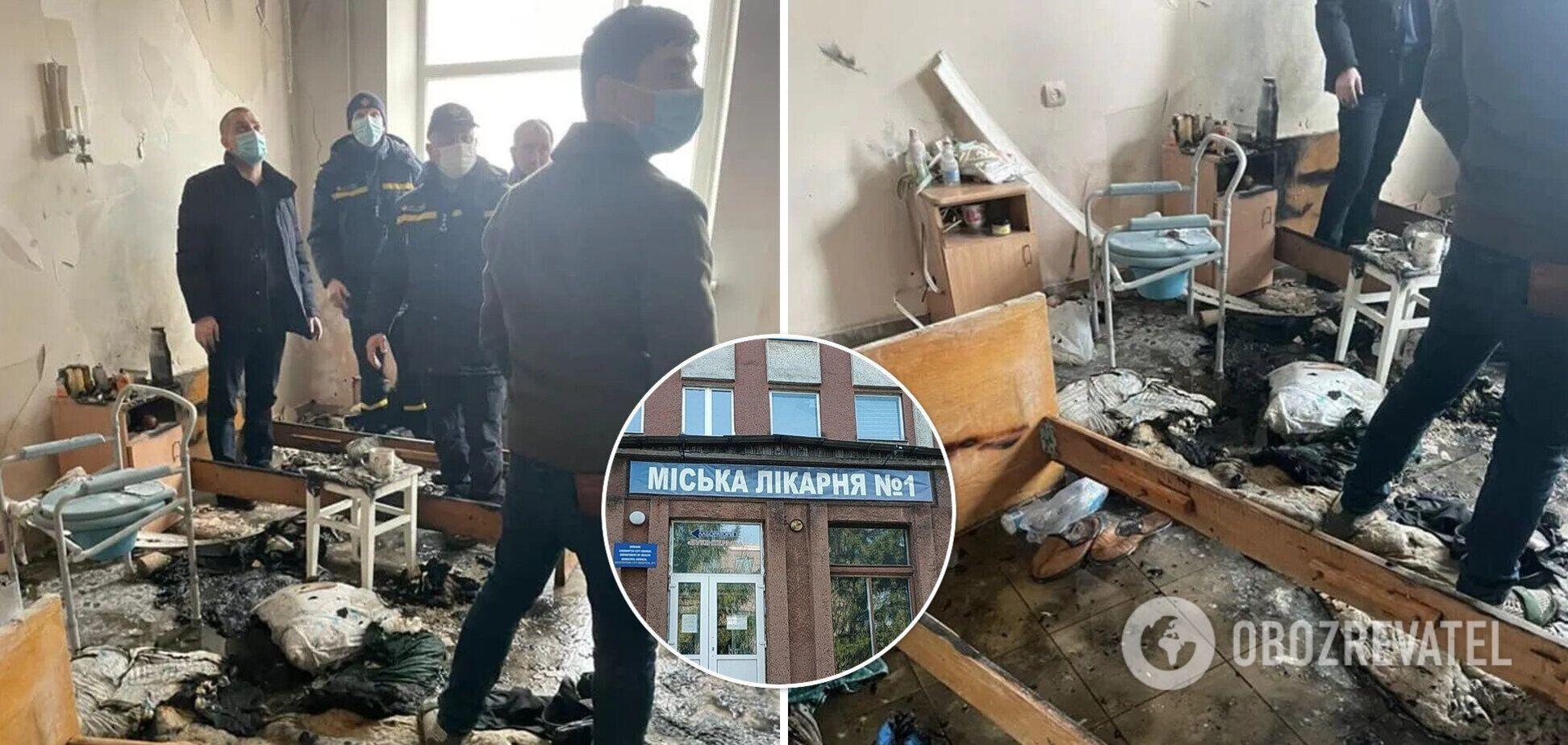У міськраді Чернівців озвучили версію загибелі чоловіка під час вибуху у лікарні