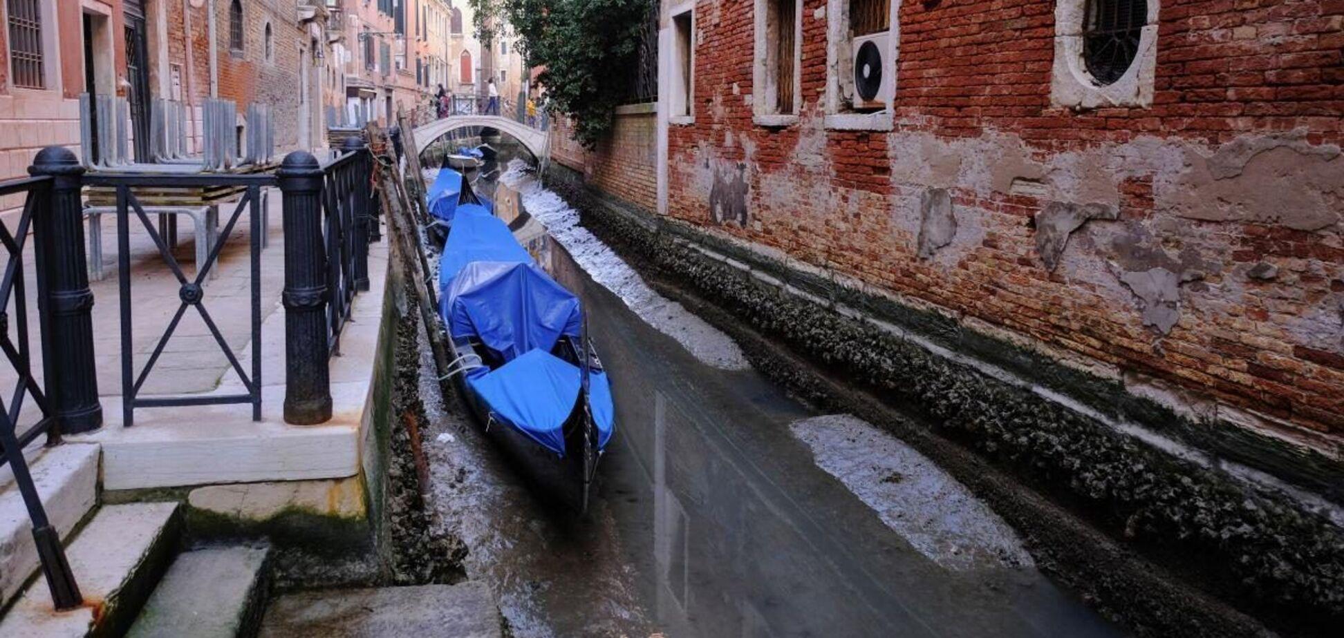 В Венеции высыхают каналы