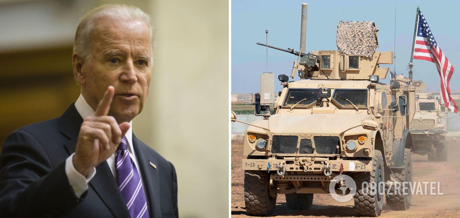 Байден заявив про підготовку атак по військових США іранськими угрупованнями