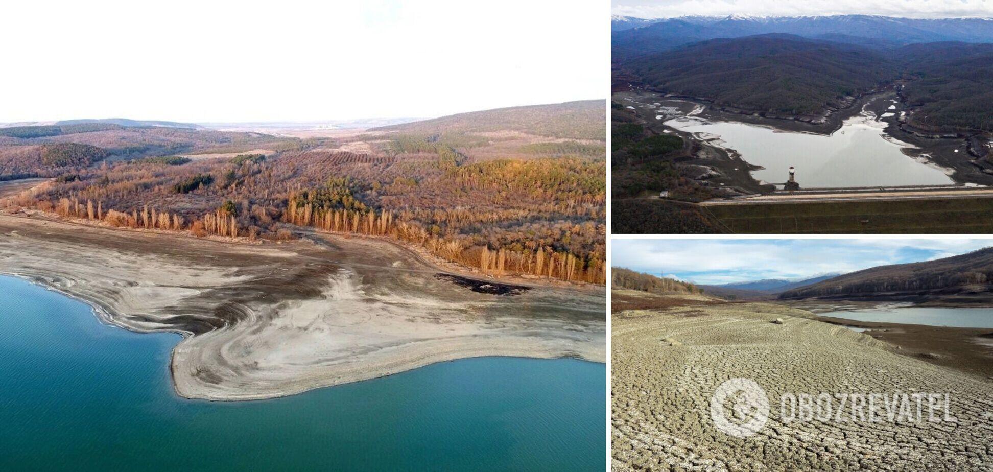 В Крыму заявили о полном высыхании двух водохранилищ