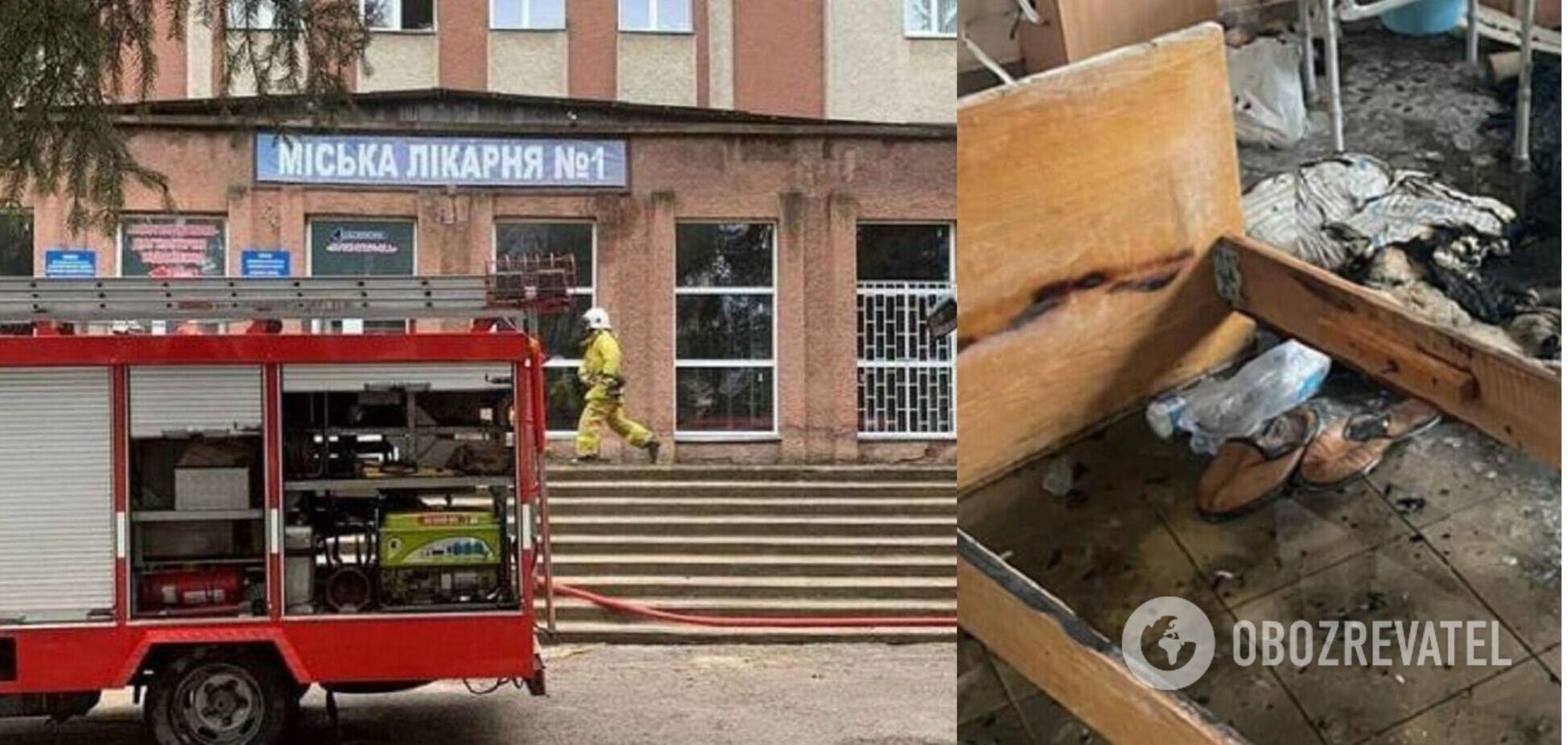 Другий пацієнт помер унаслідок пожежі в лікарні Чернівців