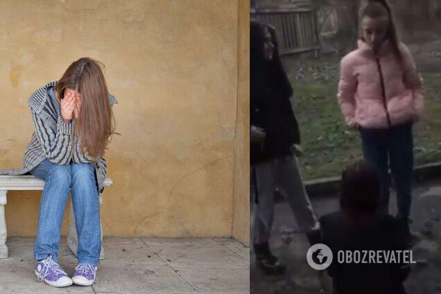 В Кривом Роге школьницы напали на девушку: избиение снимали на видео