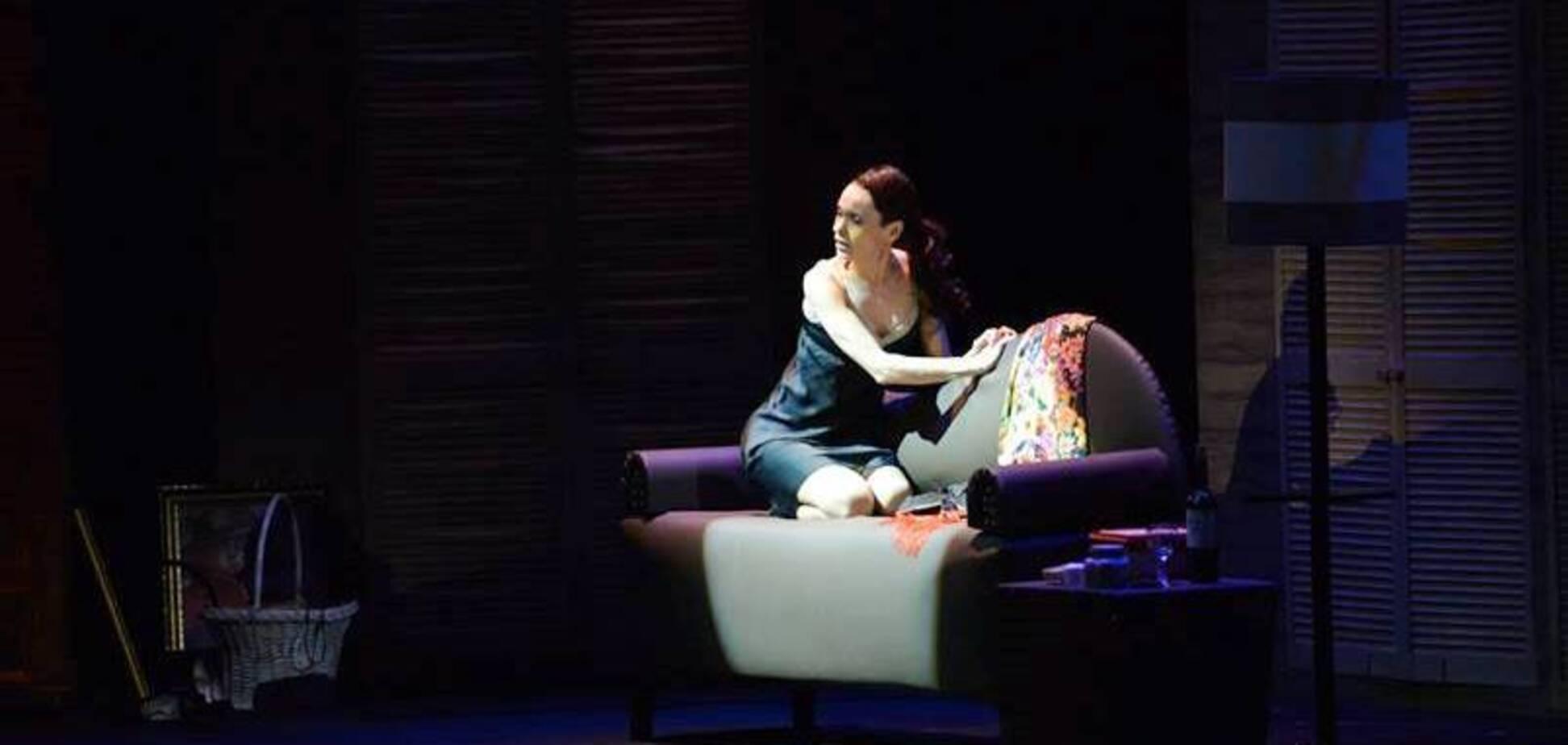 6 февраля в Национальной оперетте покажут спектакль 'Любовная отповедь мужчине'
