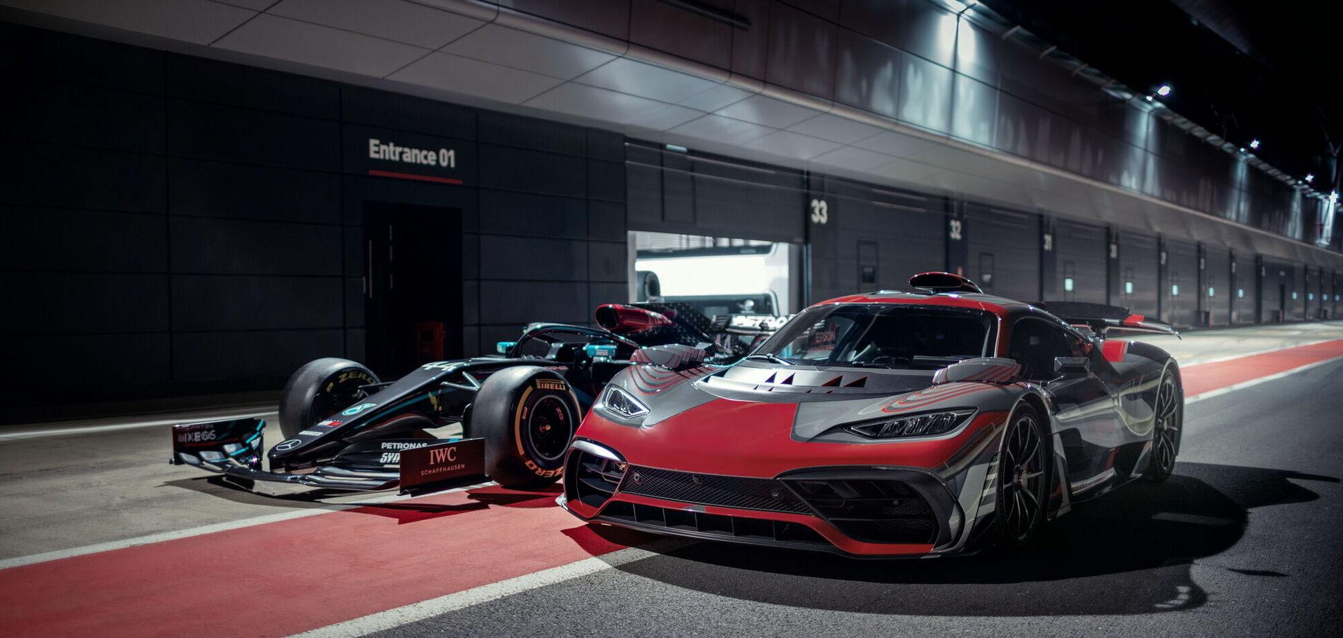 Mercedes-AMG показал на видео свой гибридный гиперкар