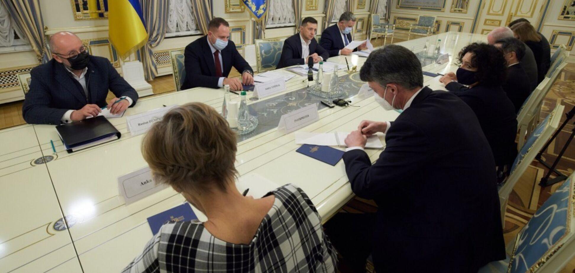 Зустріч Зеленського із послами G7