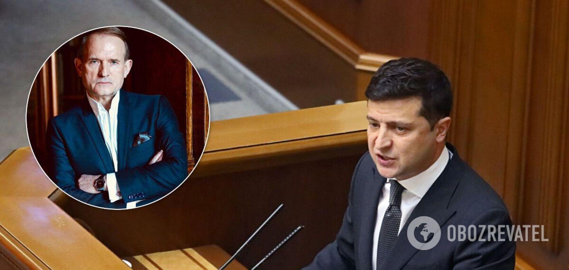 Владимир Зеленский ввел санкции против правой руки Виктора Медведчука - Тараса Козака