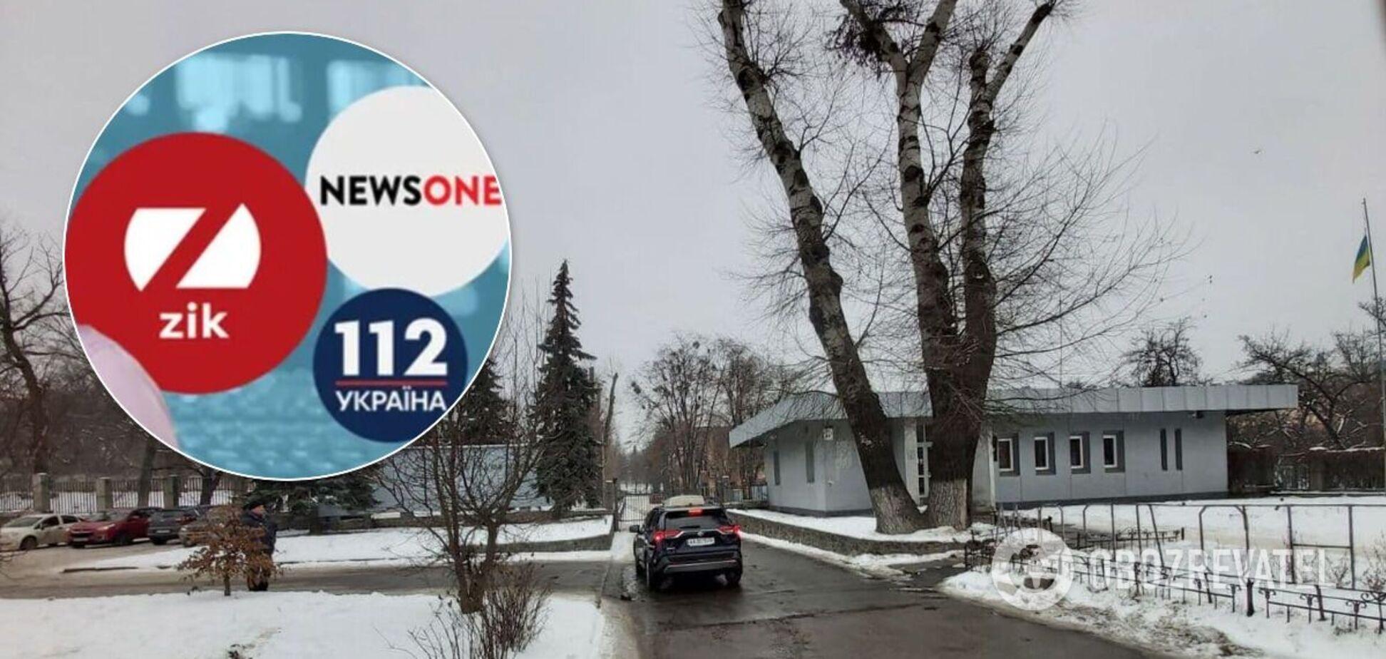Офисы каналов Медведчука не блокировали: появилось опровержение и фото