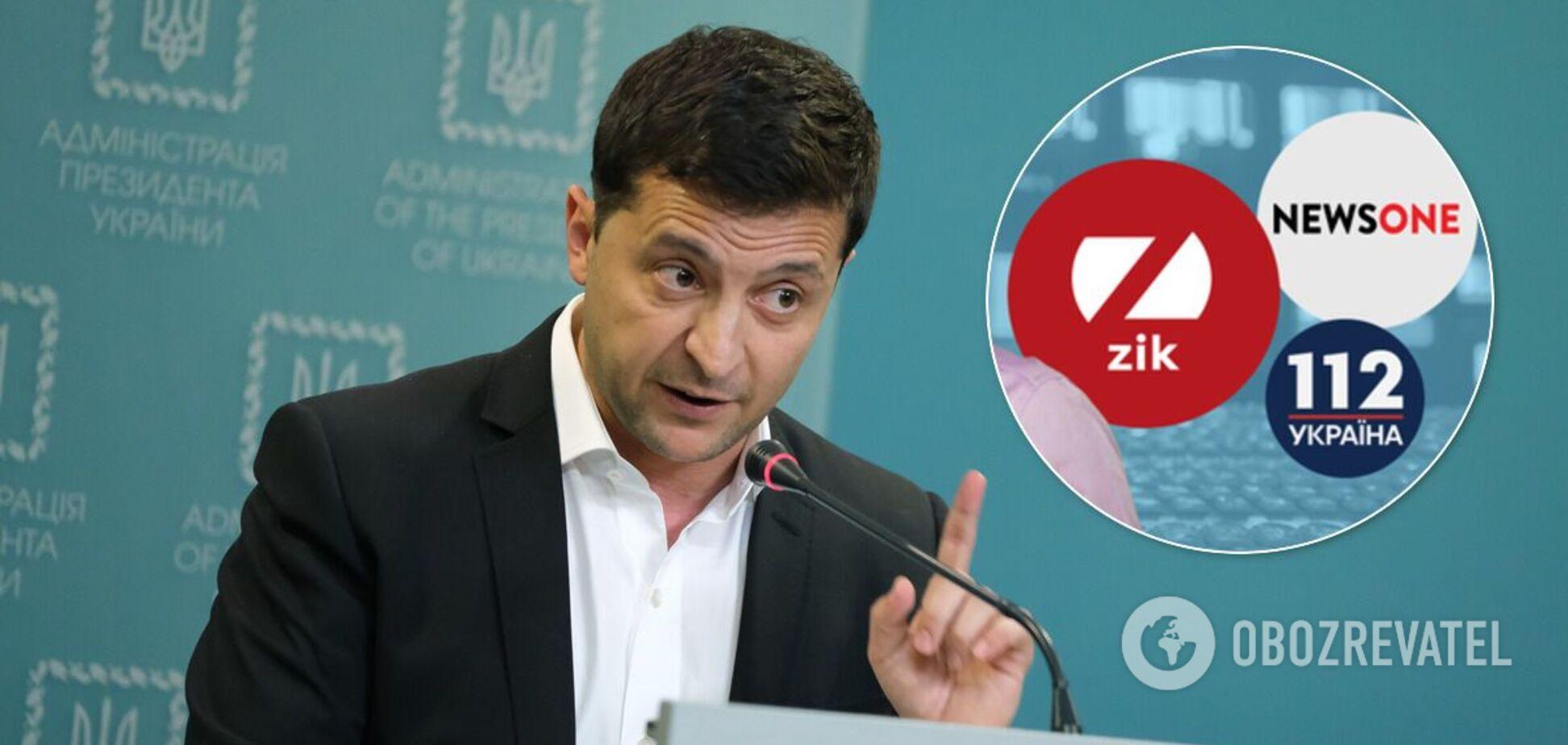 Зеленський – про санкції: Україна не підтримує пропаганду, фінансовану агресором