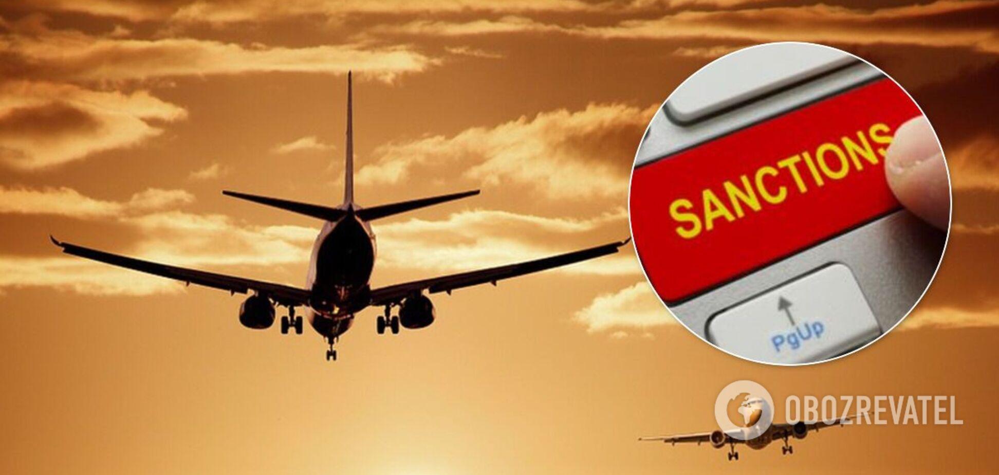 Украина ввела санкции против иностранных авиакомпаний за полеты в Россию и Крым