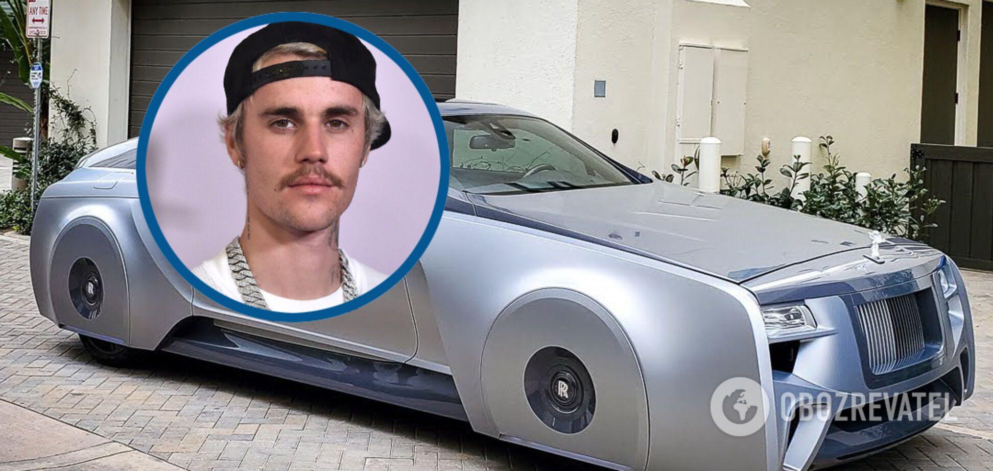Джастін Бібер став володарем дивовижного Rolls-Royce