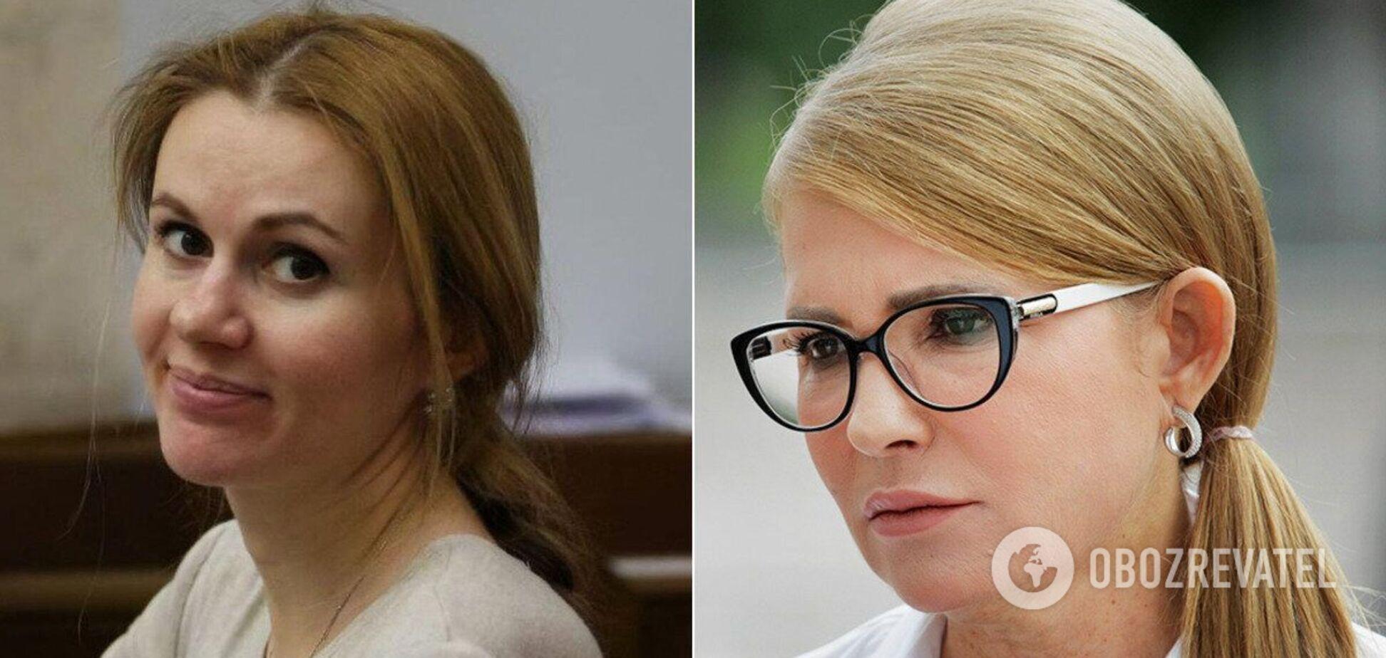 У Тимошенко з'явилася конкурентка в Раді з косою. Фото