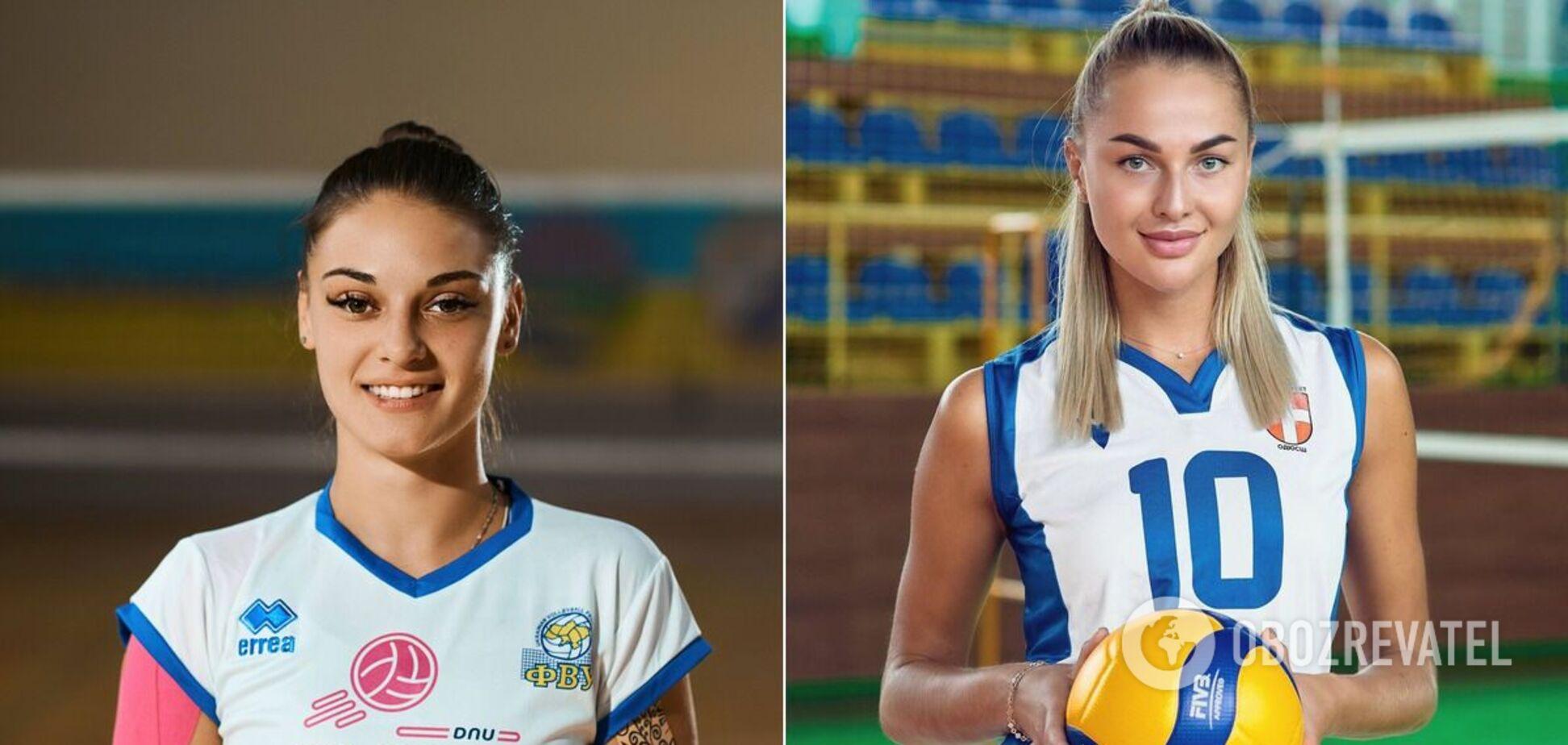 Дарья Перетятько и Людмила Осадчук (слева направо)