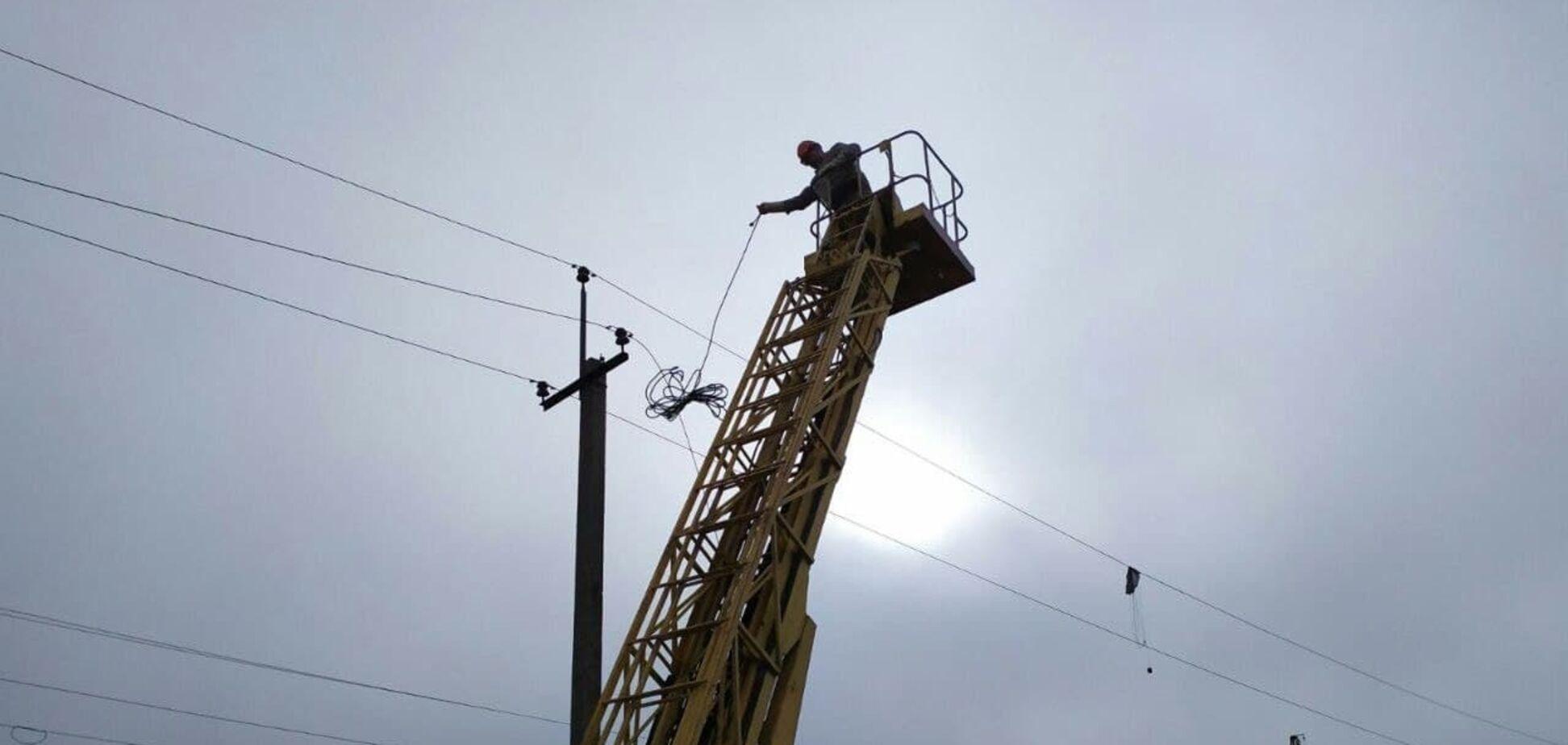 В 2020-м ДТЭК Донецкие электросети вернул свет жителям 42 прифронтовых населенных пунктов