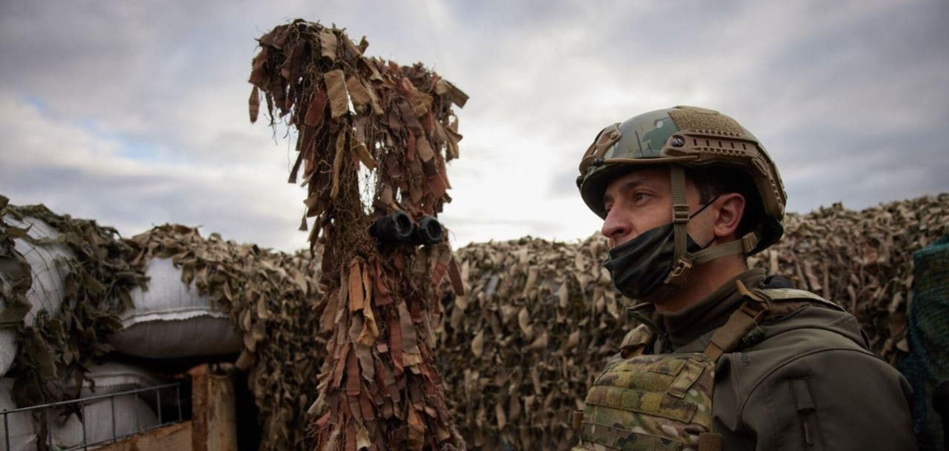 Зеленский поручил проверить готовность войск на Донбассе