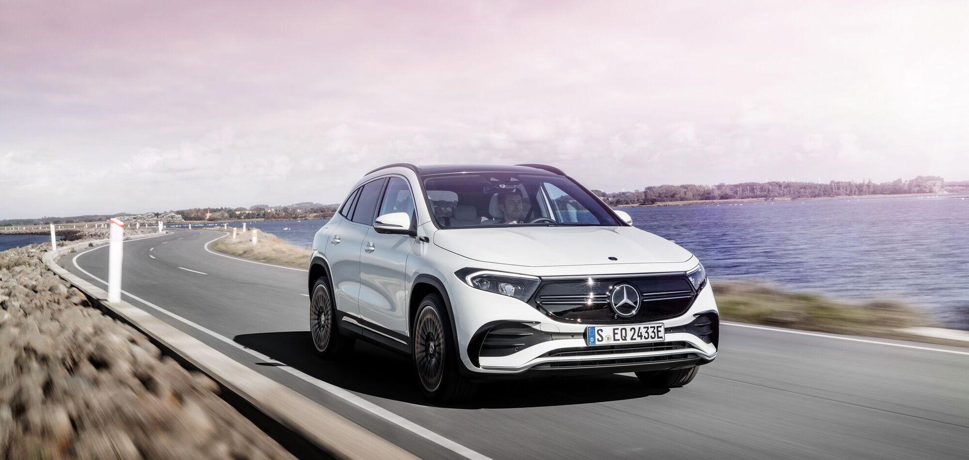 Електричний Mercedes-Benz EQA поспішає в Україну