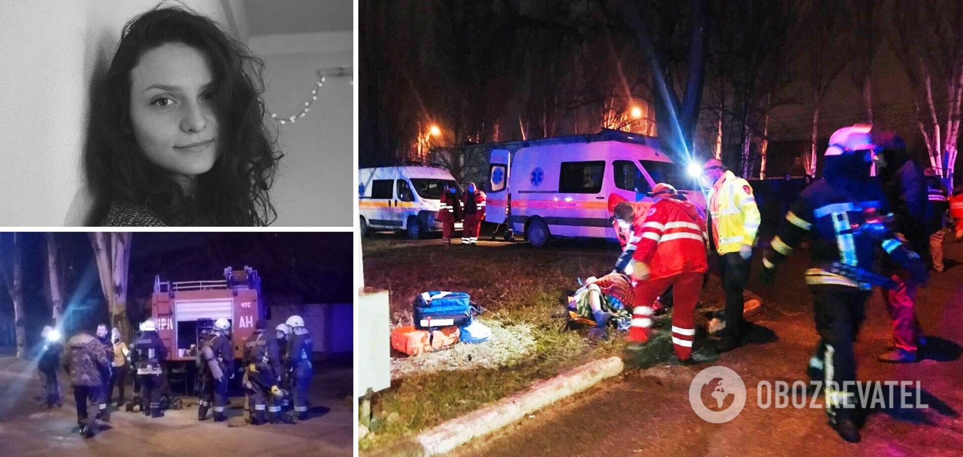 'Оля ничего не боялась!' В Запорожье погибла молодая анестезиолог, спасая от пожара пациентов: подробности