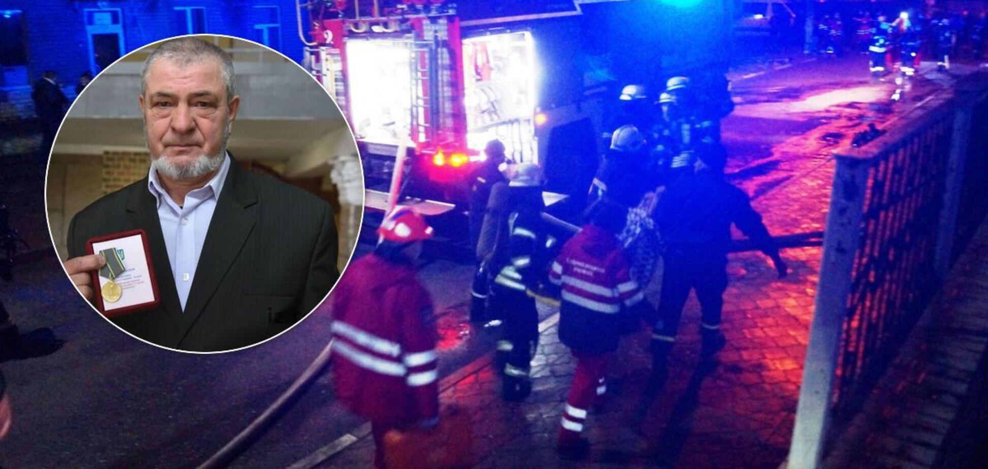На пожаре в Запорожье погиб ветеран МВД: его по ошибке не указали в списке. Фото